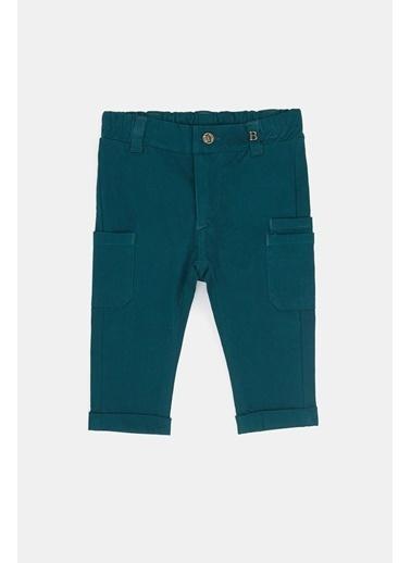 BG Baby Erkek Bebek Yeşil Pantolon 20Pfwbg1206 Yeşil